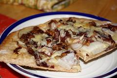 Food Pr0n: Potato and Radicchio Flatbread