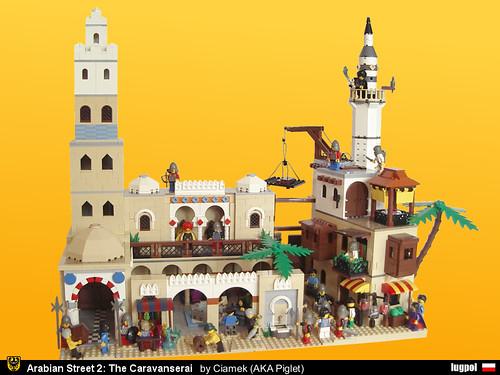 LEGO PigletCiamek Caravanserai