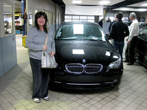 mom's new car