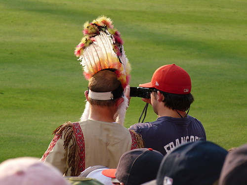 Atlanta Braves' superfan
