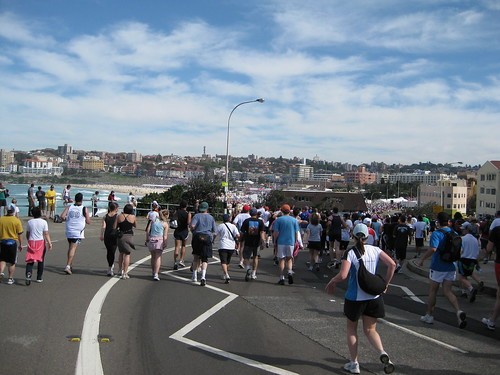Bondi Beach - the finish line must be close