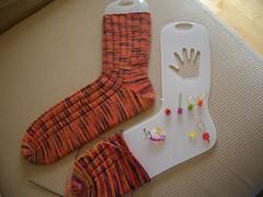 Trev's Koigu Socks WIP