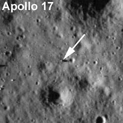 Apolo XVII por LRO baja