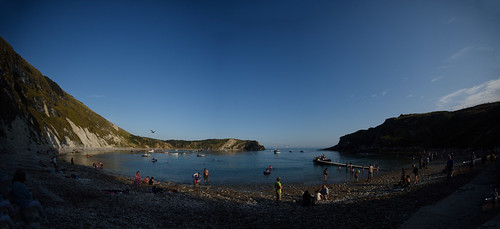 """Lulworth Cove Panorama • <a style=""""font-size:0.8em;"""" href=""""http://www.flickr.com/photos/96019796@N00/32874951601/"""" target=""""_blank"""">View on Flickr</a>"""