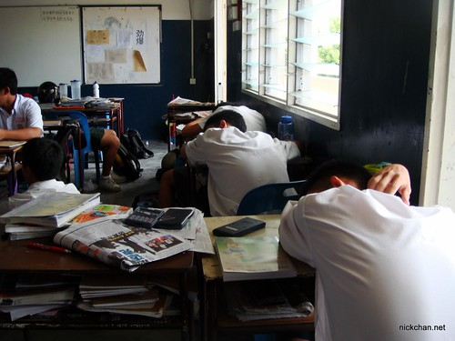 When Theres No Teacher In Class 5SA1 NICK CHAN DOT NET