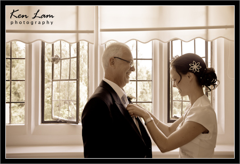 Lynne & Hamd - Wedding at Otterburn Hall, Northumberland