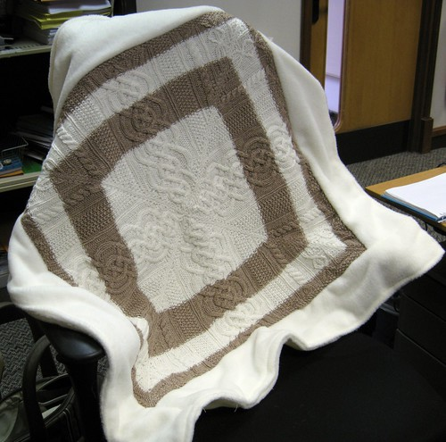 baby blanket front