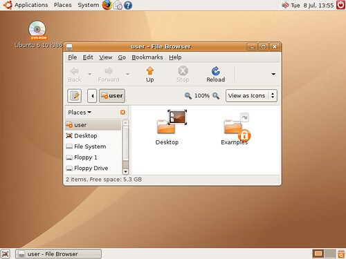 Ubuntu Edgy Eft