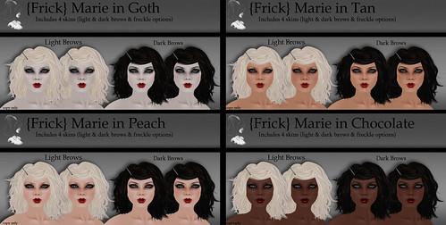 {Frick} Pinups - Marie