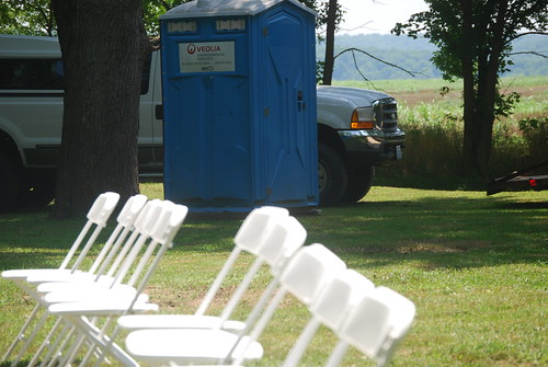 Outhouse at Wedding by you.