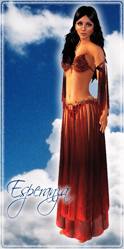 Esperanza Garnet by Silk & Satyr