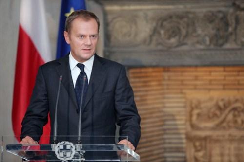 Συνάντηση με τον Πρωθυπουργό της Πολωνίας, Donald Tusk