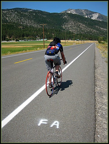 FA - A long long way to ride!