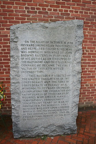 Heyward Shepherd monument