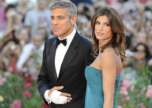 George Clooney e Elisabetta Canalis
