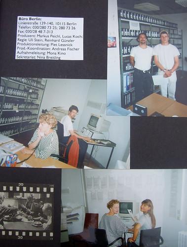 "Post production on ""Das wahre Leben"""