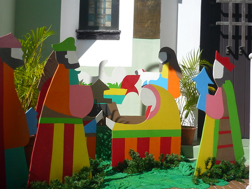 Nativity scene in San Juan, PR