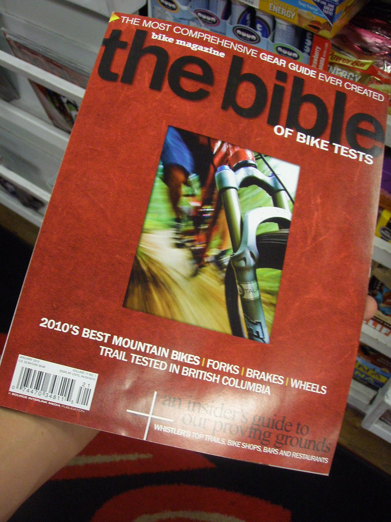 BIKE magazine buyers guide
