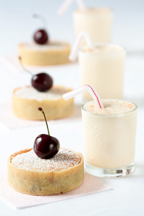 Bakewell Cherry Tarts & Cherry Pit Ice Cream