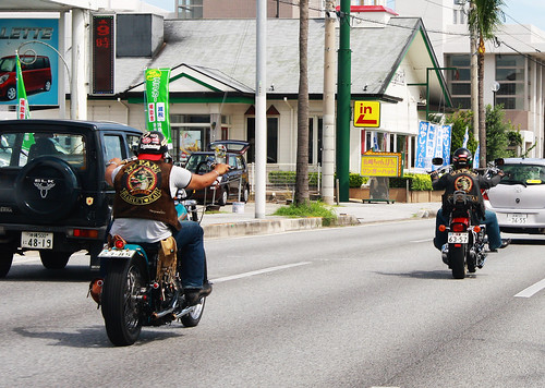 Japanese Harley Riders