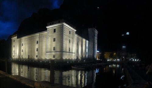 Panorama di Riva del Garda.