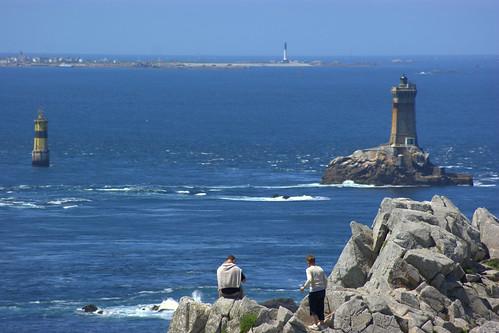 The lighthouses at Pointe du Raz