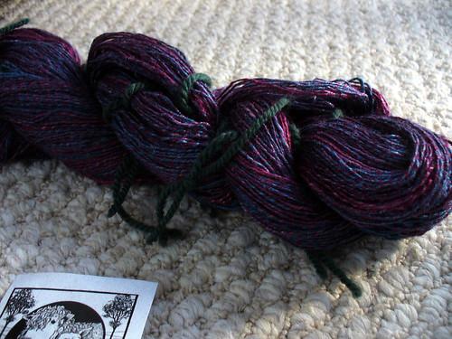 Silk spinning finally done.