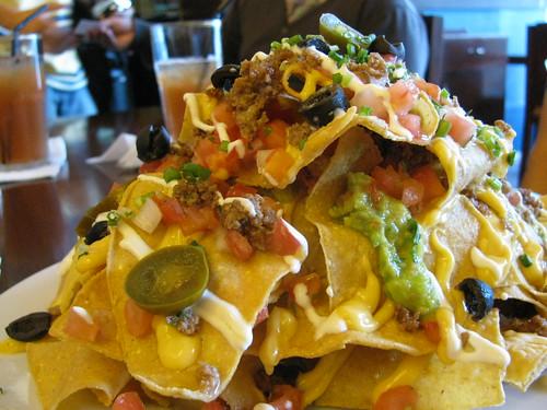 Nacho Grande at Agave Mexican Cantina