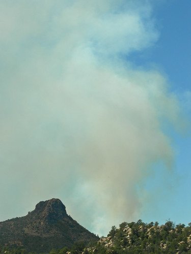 Contolled Burn Near Thumb Butte