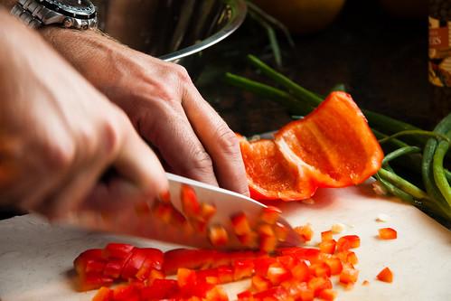 Chopping Pepper