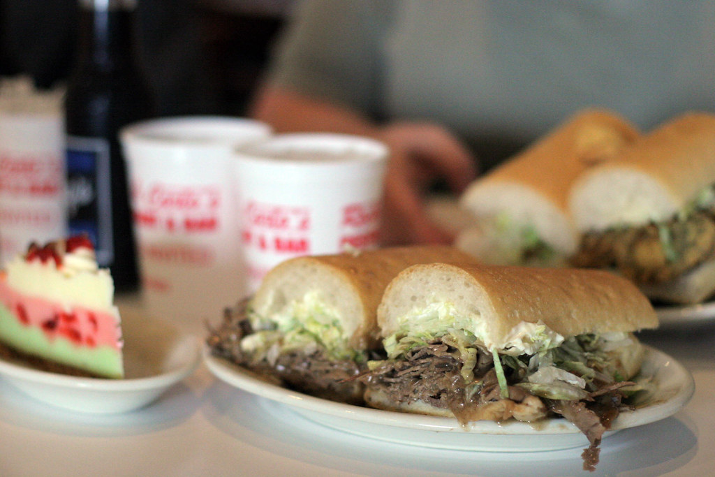 Two po-boys can feed the entire block