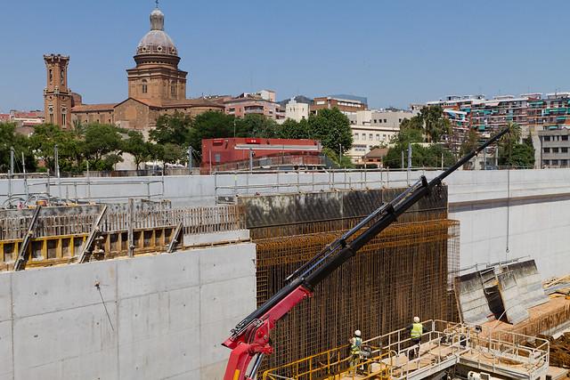 Zona estació de Sant Andreu - Norte - 21-06-11