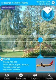 Cool Schiphol flights #layar