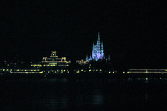 Magic Kingdom @ night