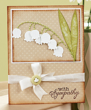 Kims Delicate Flower Sympathy Card was a fan favorite from our recent Card Creations 7 Week!