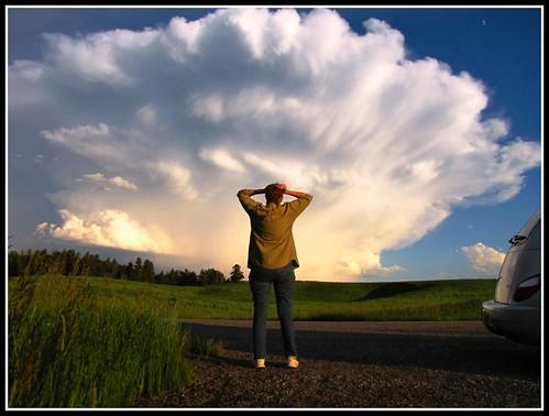 Giant Clouds Invade Idaho! Close Encounters of the Cumulonimbus Kind by moonjazz.