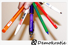 ツ Some look at this picture and see pencils......