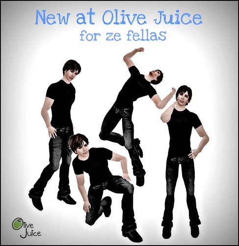 New at Olive Juice Men