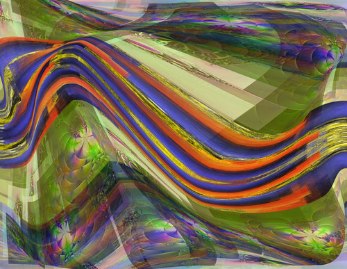 Mashed Up Abstract