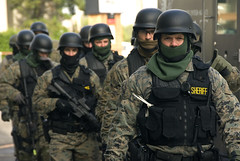 SWAT team prepared