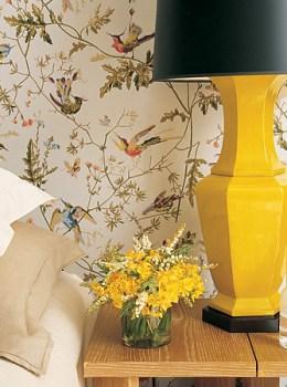 Martha Stewart Living yellow lamp