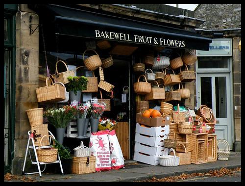 Baskets in Bakewell