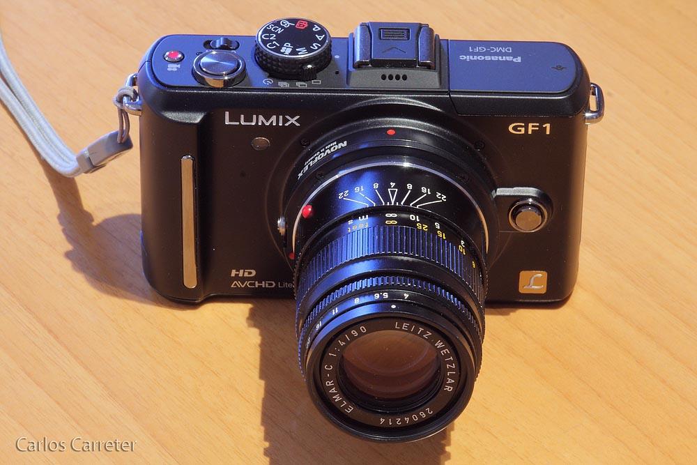 Panasonic Lumix GF1 + Leica Elmar-C 90/4