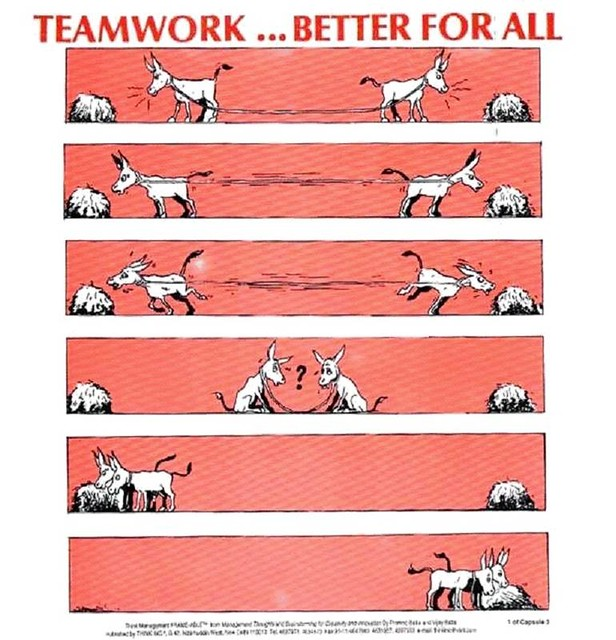 Teamwork redefined