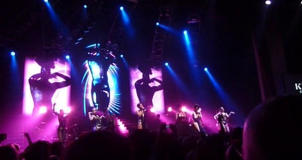 Kylie Minogue at Universal Orlando's Hard Rock Live