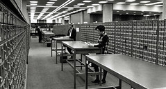 Perkins Library Card Catalog, 1969