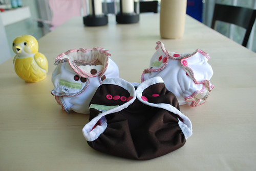 welcome home baby girl set - brown and pink