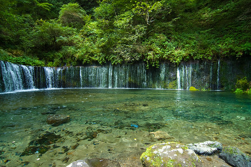 Shiraito Waterfalls