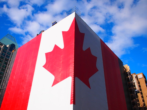 Massive Canadian Flag