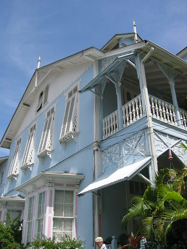 Old colonial house in Port of Spain, Trinidad